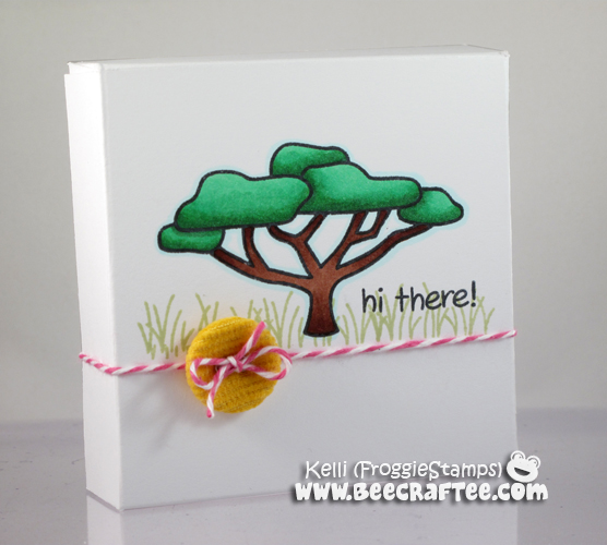 Copic Hi There Notecard and Box Set 1