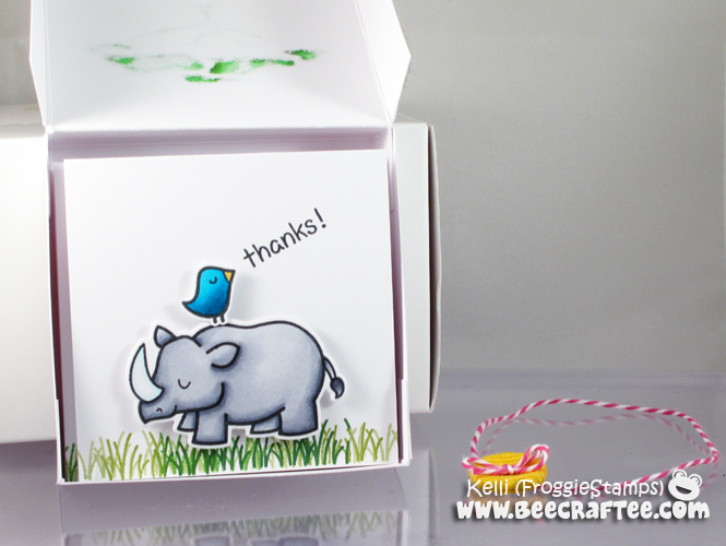 Copic Hi There Notecard and Box Set 2