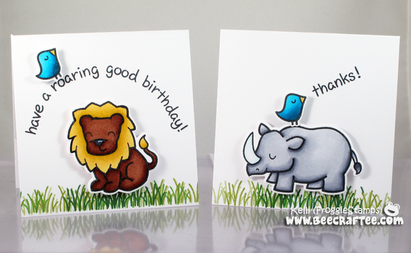 Copic Hi There Notecard and Box Set 4