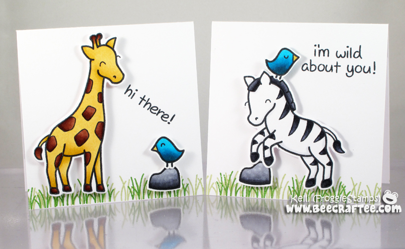 Copic Hi There Notecard and Box Set 5
