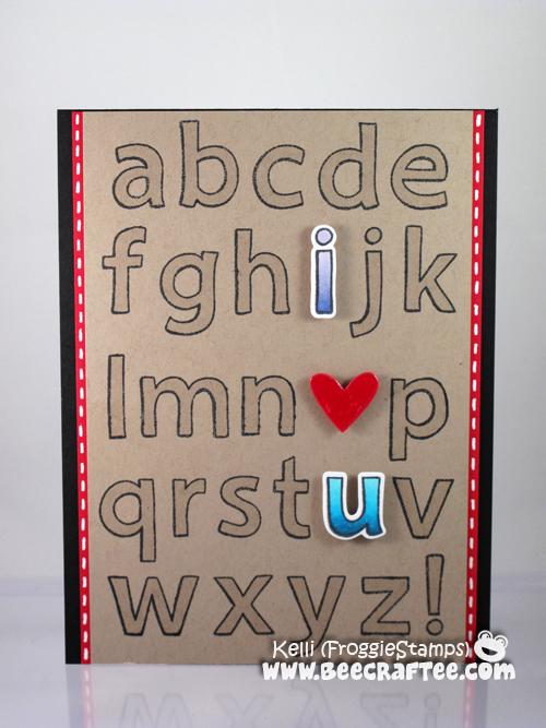 Copic I Heart U Alphabet 1