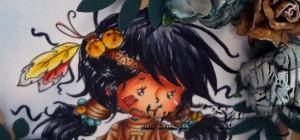 WS, Lomasi, Pretty Flower top