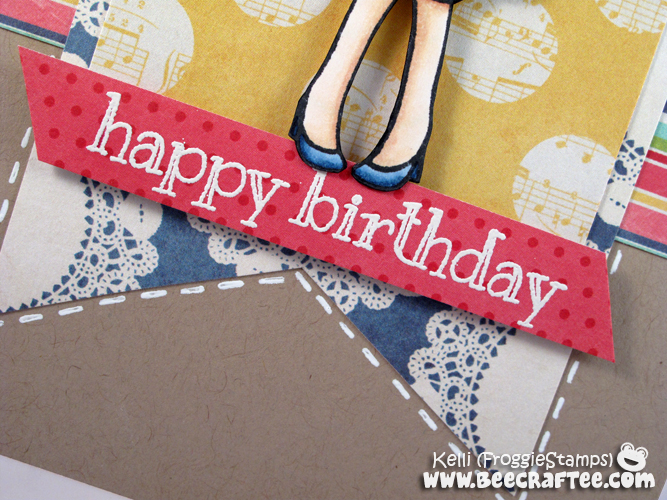 Copic Happy Birthday Dressy Anya 3