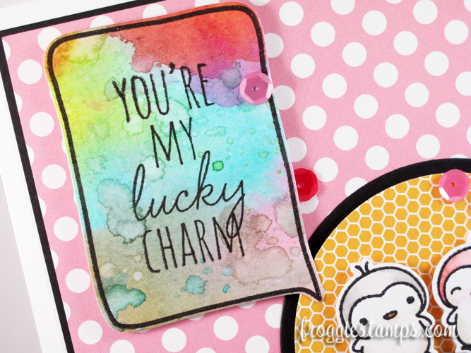 Distress Marker You're My Lucky Charm 2