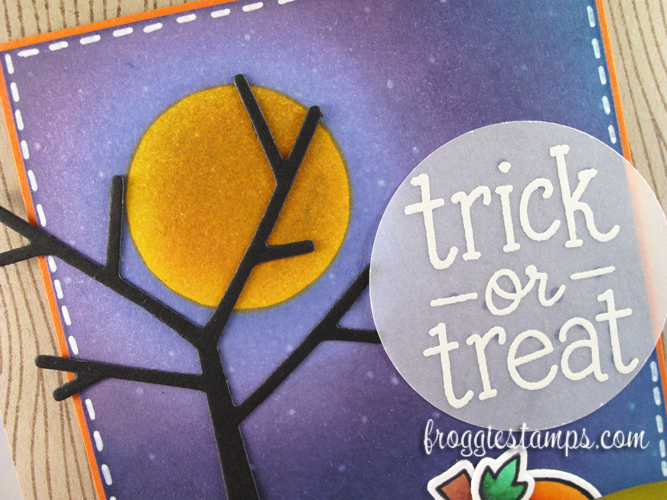 Copic and Distress Ink Trick or Treat 2