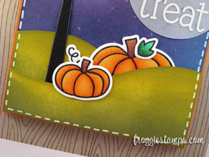 Copic and Distress Ink Trick or Treat 3