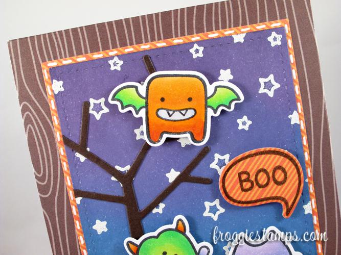 Copic Boo Monsters Scene 2