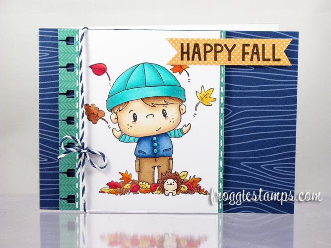 Copic Happy Fall Boy