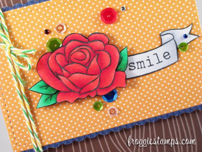 Copic Rose Smile 2