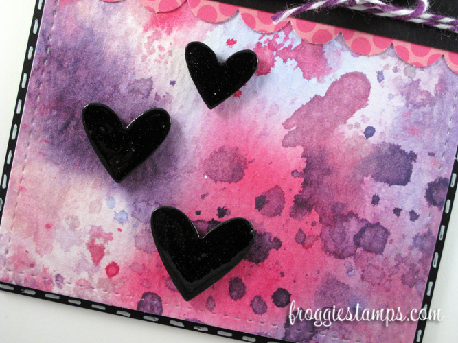 Copic Love Distress Splatter 3