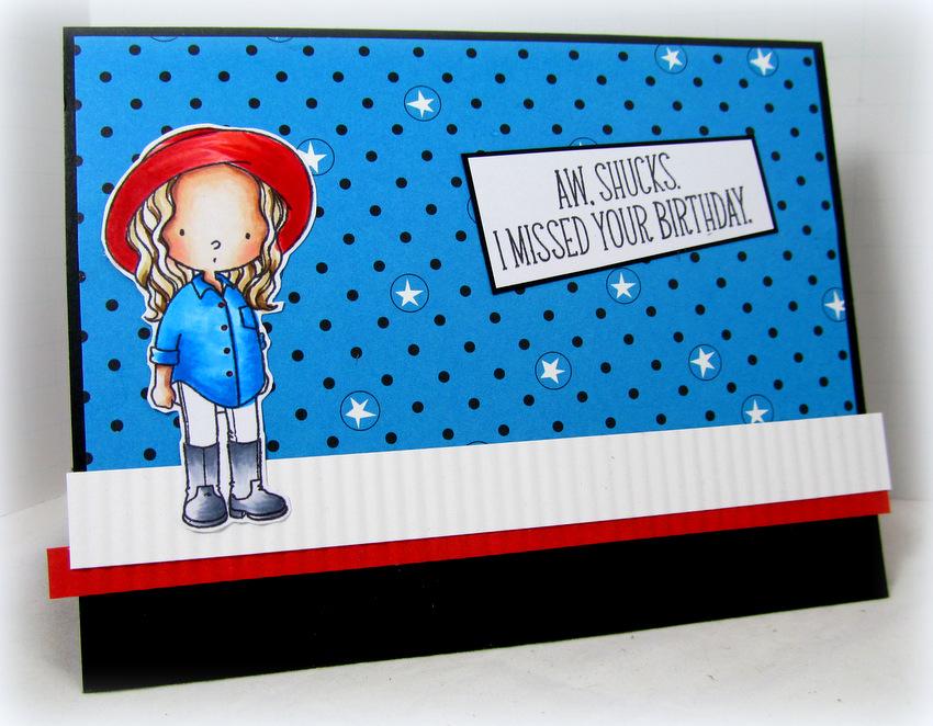 Monica Edwards  fun card