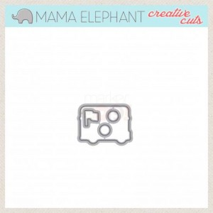 Mama Elephant Sight Seeing Creative Cuts