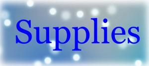 Supplies Blue