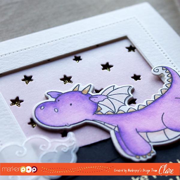 purple-dragon-close-by-clare-prezzia-for-markerpop